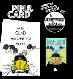 Designated driver pin and card $12