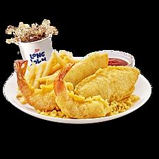2pc Chicken & 2pc Shrimp
