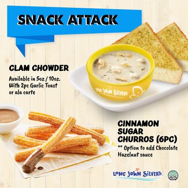 Snack Attack at Long John Silver's