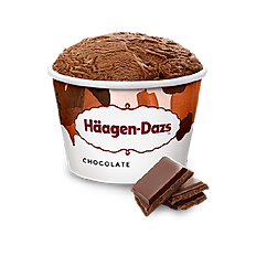 Häagen-Dazs Chocolate Ice Cream