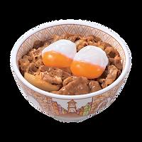 106 double half boiled egg gyudon.png