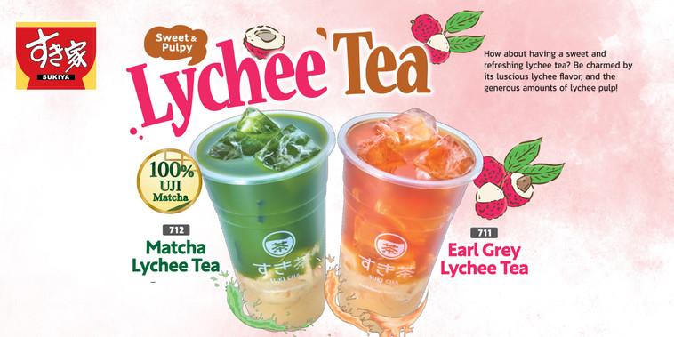 Lychee Tea Banner