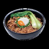 503 half boiled egg gyudon beef yakiniku