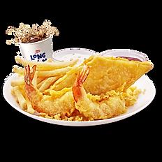 Fish & 2pc Shrimp