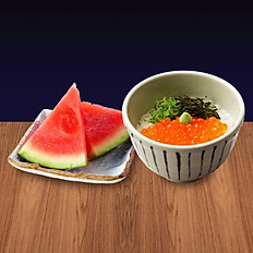 Mini Hokkai Ikura Don Set