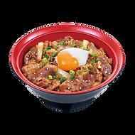 207 half boiled egg beef yakiniku bowl.p