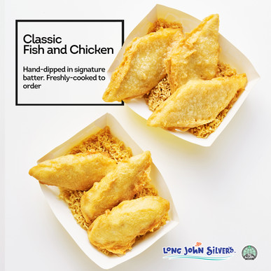 Signature battered fish and chicken