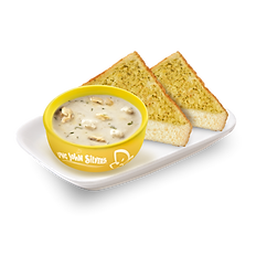 Clam Chowder with 2pc Garlic Toast