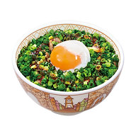 101 spring onion and half boiled egg gyu