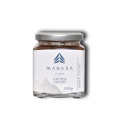 Crema de Sacha Inchi Cacao X 200 gr Manasa
