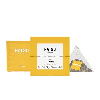 Infusión Té Chai Caja 12 unidades Hatsu