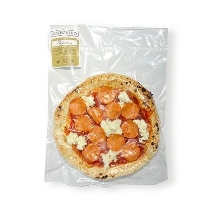 Pizza congelada Carbonero pepperoni