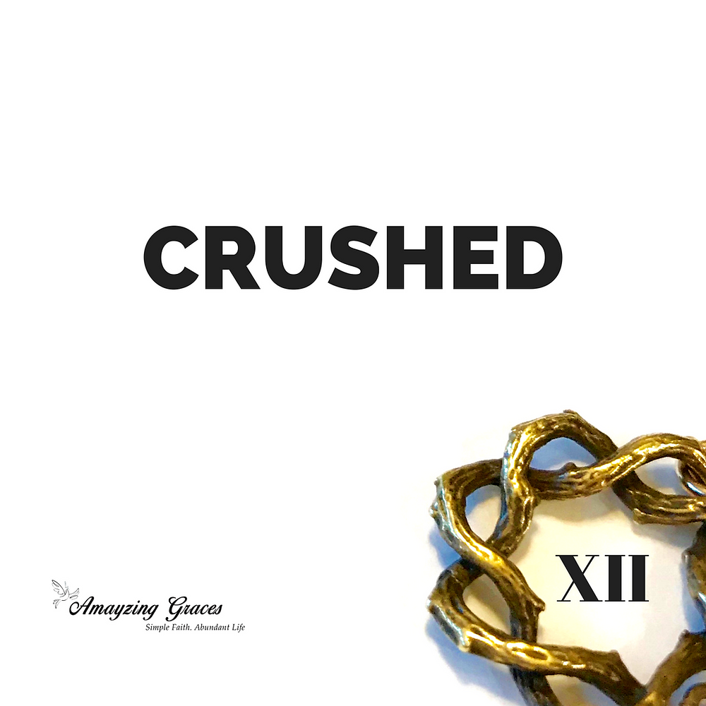 12th Station, Stations of the Cross, crushed, Karen May, Amayzing Graces