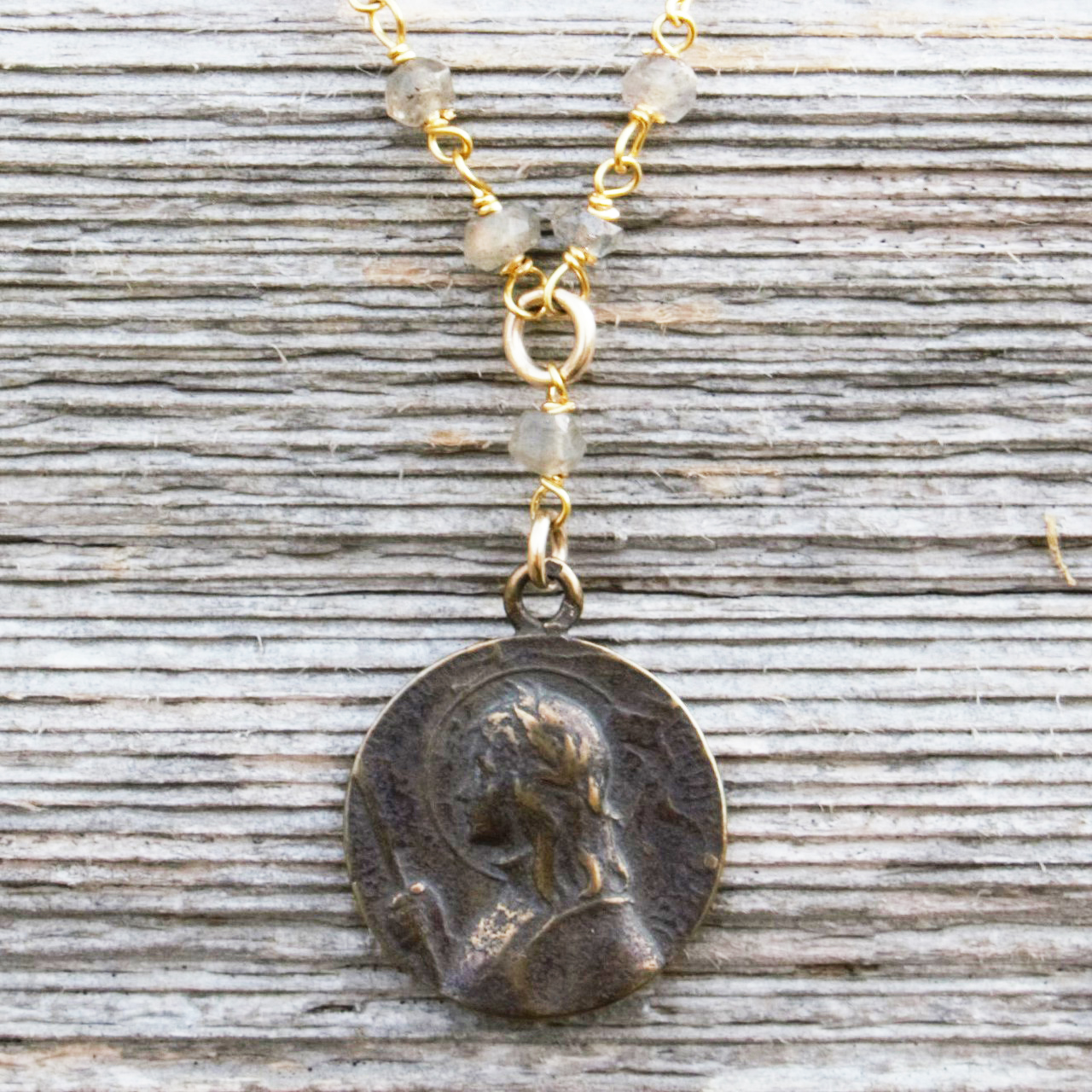 Joan of Arc Pendant