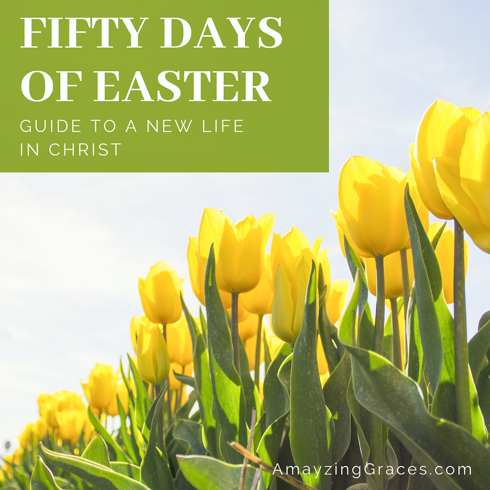 Fifty Days of Easter, Guide to a New Life in Christ, Karen May, Amayzing Graces
