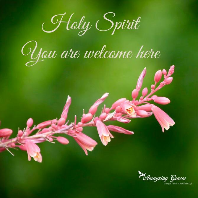 Come Holy Spirit - I think...
