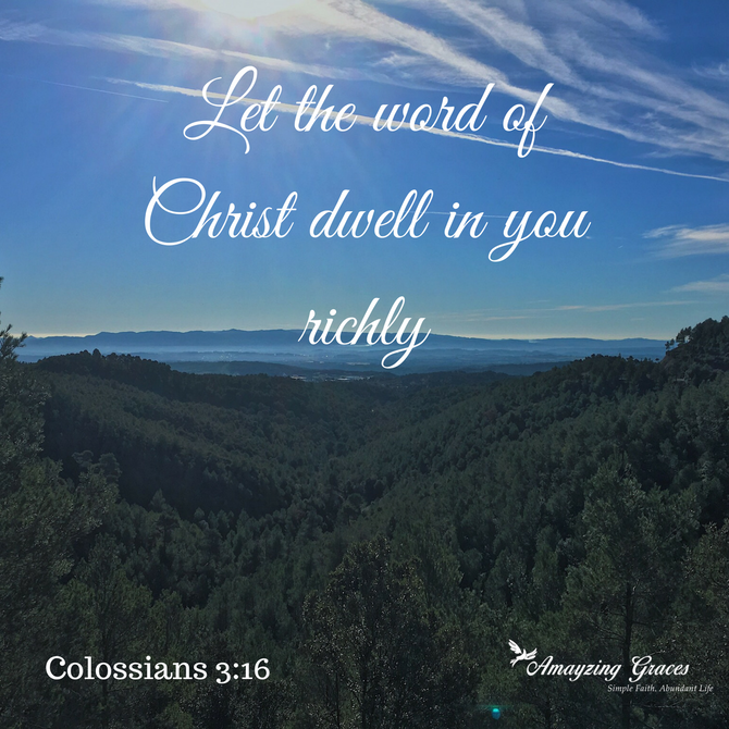 Let the Word of Christ Dwell within You