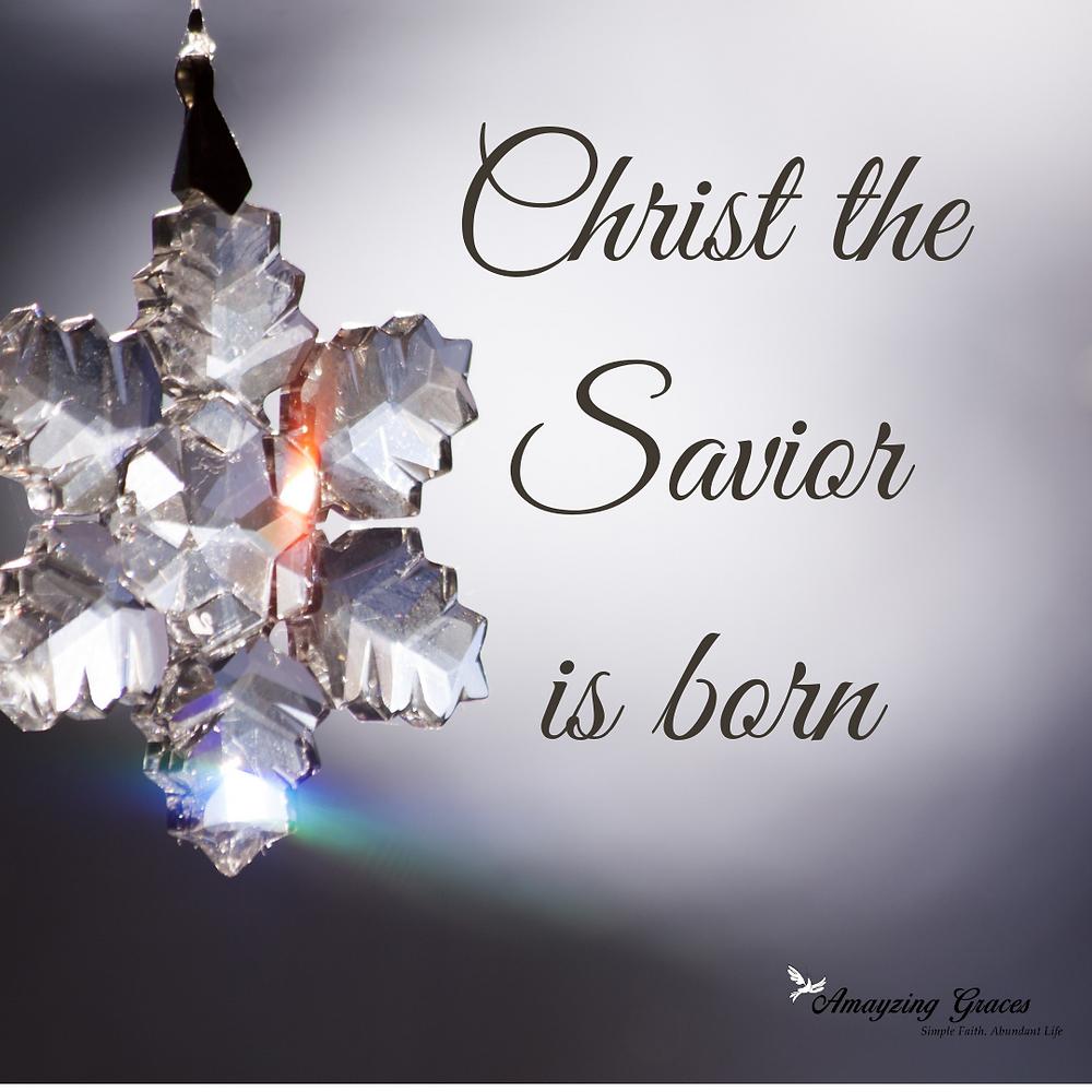 Christmas, Christ the Savior is Born, Karen May, Amayzing Graces