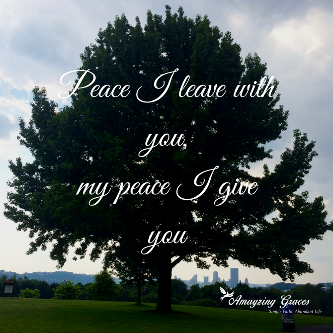 Fruits of the Spirit: Peace