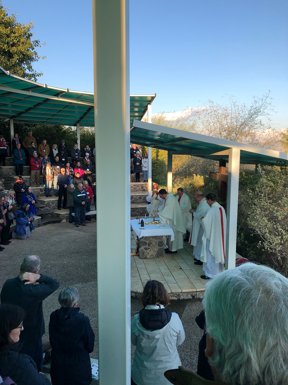 Mass on the Mount of the Beatitudes, Karen May, Amayzing Graces