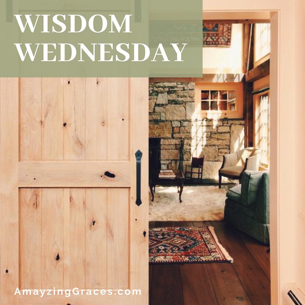 Wisdom Wednesday, Karen May, Amayzing Graces