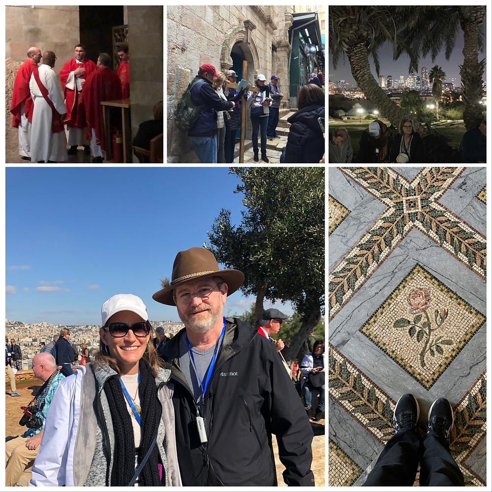 Jeff Cavins, the Way of the Cross, Via Dolorosa, Joppa, Karen May, Amayzing Graces
