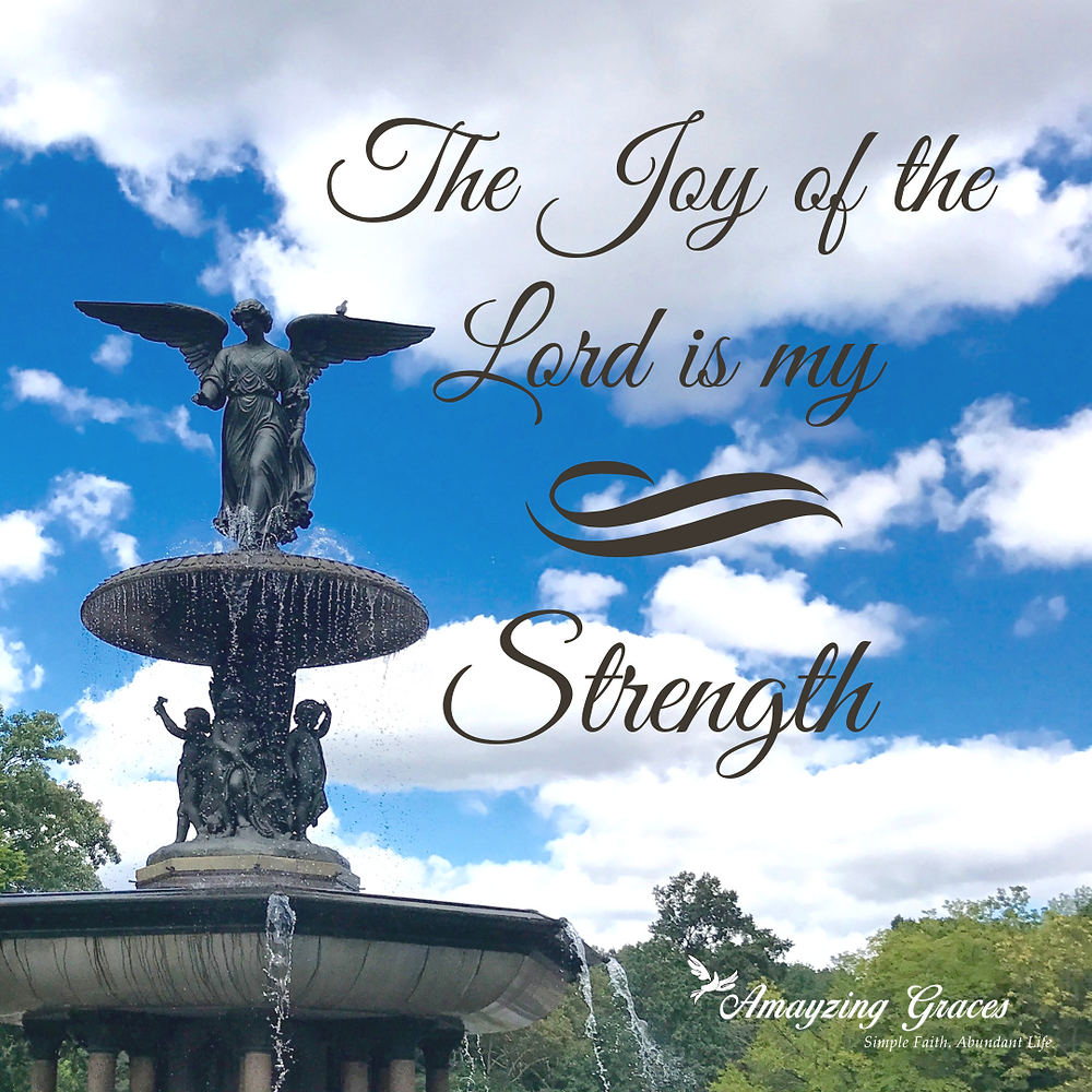 The Joy of the Lord is my strength, Fruits of the Spirit, Holy Spirit, Karen May, Amayzing Graces