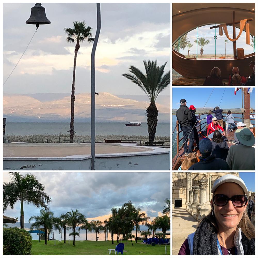 Sea of Galilee, Magdala, Karen May, Amayzing Graces