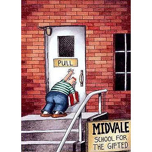 Far Side Cartoon, Karen May