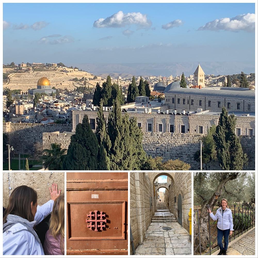 Jerusalem, Western Wall, Garden of Gethsemane, Karen May, Amayzing Graces