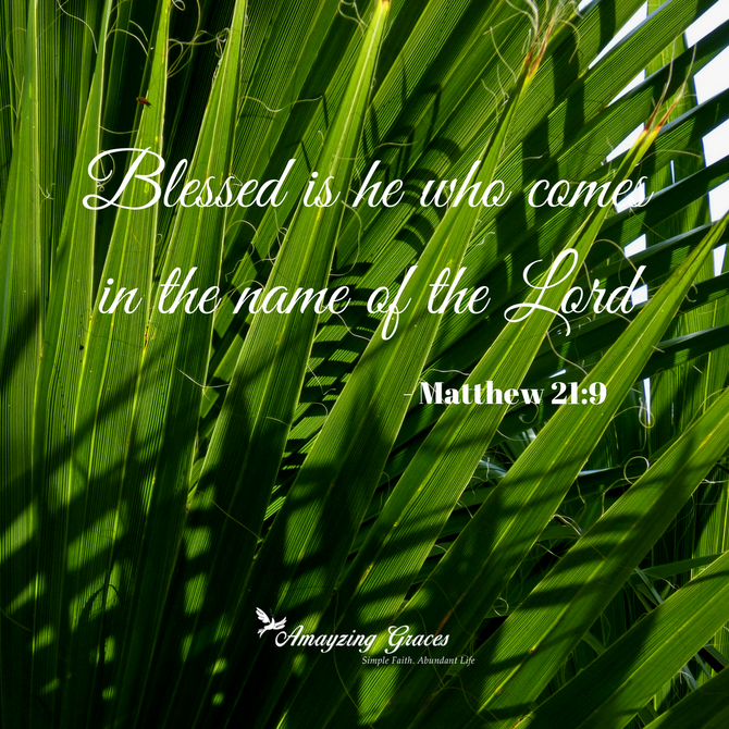 Palm Sunday: Our entrance into the story of Easter