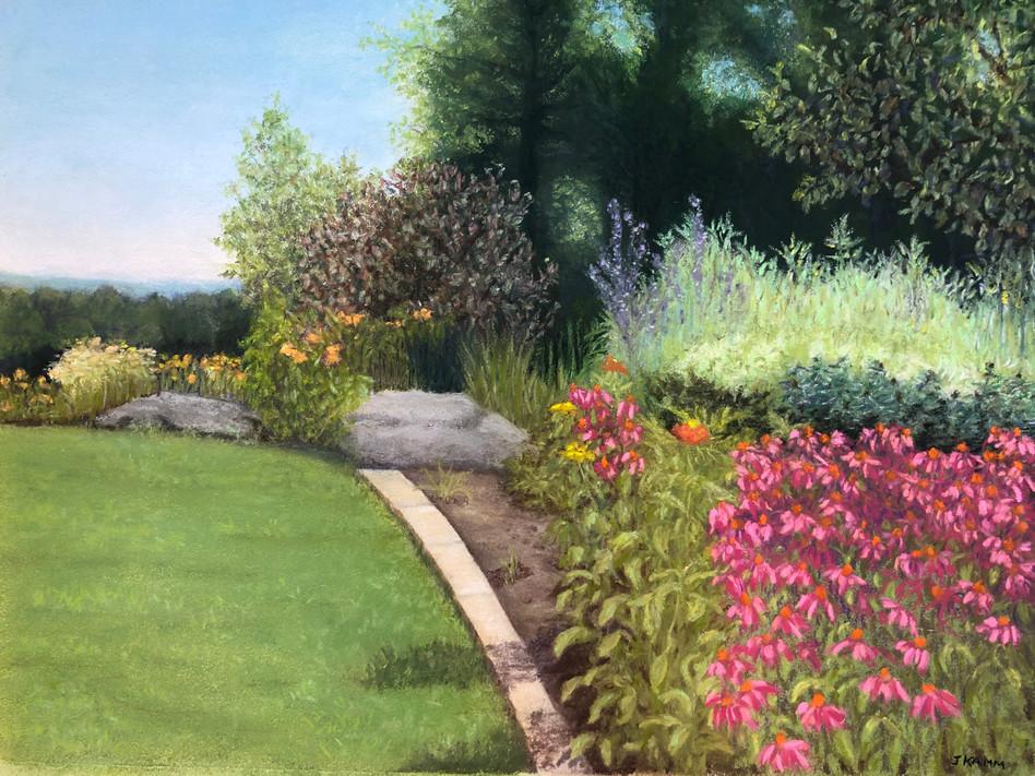 Berkshire Neighbor's Garden