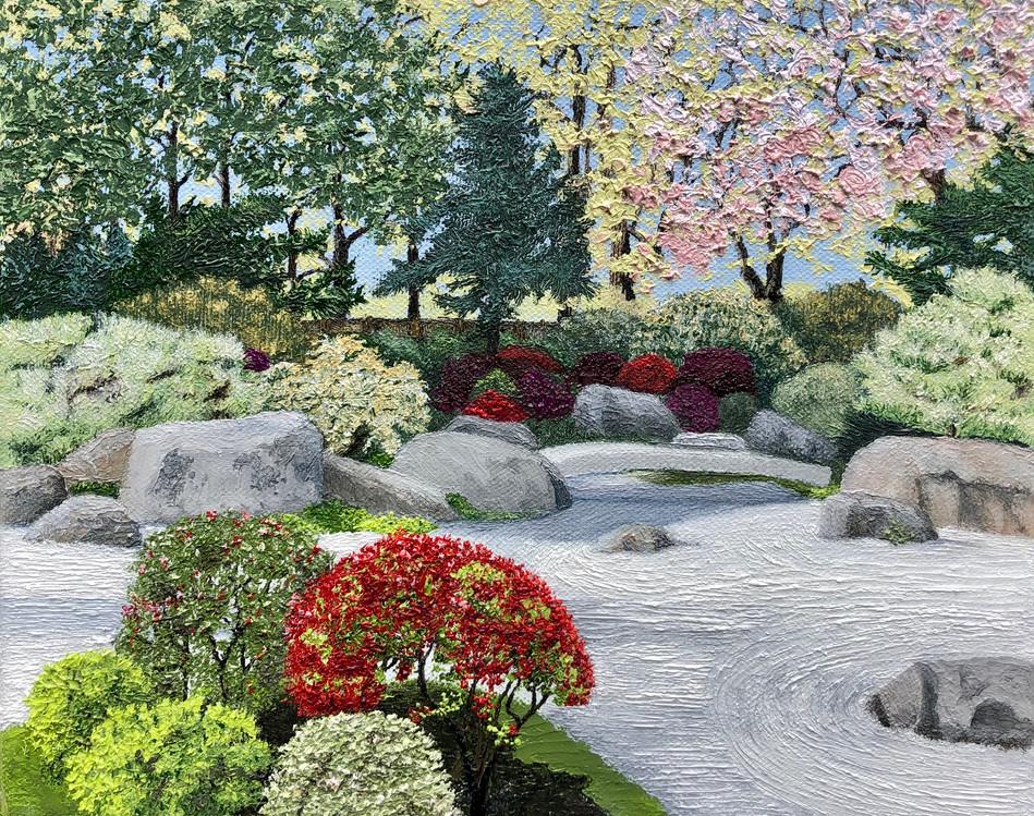 MFA Boston Zen Garden