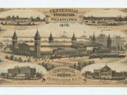 """In celebration of the United States' one-hundredth anniversary of independence, the International Exhibition of Arts, Manufactures, and Products of the Soil and Mine took place in Philadelphia's Fairmount Park. Popularly known as the """"Centennial Exhibition,"""" this exhibition brought millions of people from across the world to Philadelphia, where they witnessed the accomplishments and advancements of the United States, and achievements of other contributing countries."""