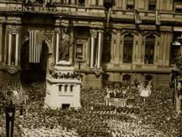 """The United States was reluctant to join the """"Great War,"""" or World War I, due in part to its belief that this was a European conflict, as well as resistance from many German immigrants in the United States. After several years of neutrality, the United States joined the war in April, 1917, on the side of the Allied Powers. However, in order to become involved, we first needed to bolster our military recruitment, war industry, and, most importantly, support from citizens."""