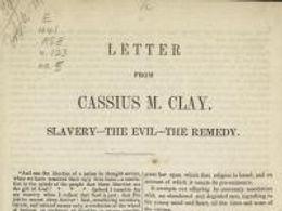Arguing Against Slavery; Ending Slavery