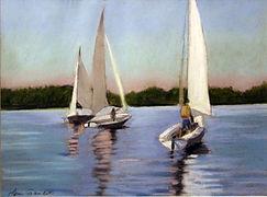 Sail Boats Leni Gaudet