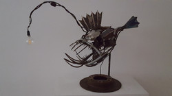 Fish Lamp Jon Bander
