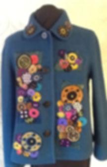 F. Rosenstock Upcycled Wool Jacket w Han