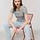Thumbnail: T-shirt Jazzer femme chiné