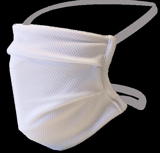 50 masques tissu blanc