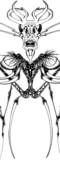 TRIBAL INSECT #7