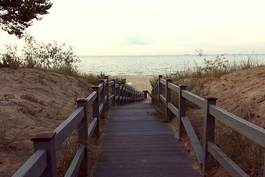 Strandaufgang Pension Meeresblick Graal-Müritz