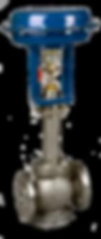 Vanne de régulation, Actionneur pneumatique,Gamme M9 2 voies