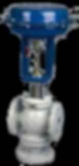 Vanne de régulation, Actionneur pneumatique, Gamme M9 3 voies