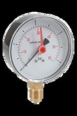 Manomètre à aiguille, Gamme thermo-hydraulique