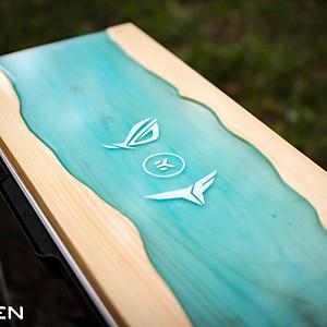 InWin 303 - Wood Resin Mod