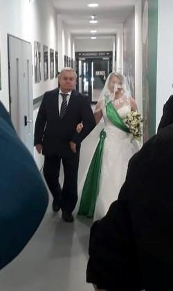 Hochzeit im Allianzstadion