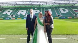 Hochzeits Kulisse SK Rapid
