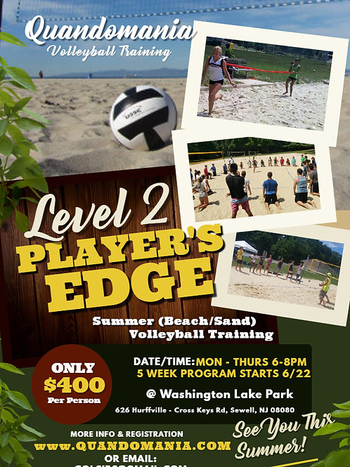 Level 2 Players Edge (Sewell Location)